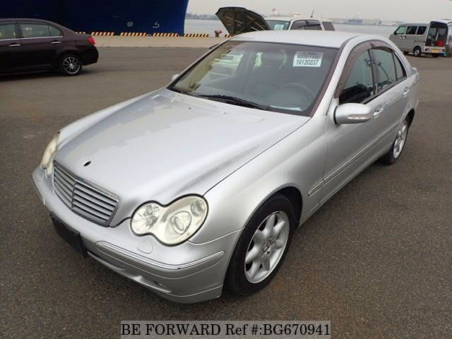 Used 2003 MERCEDES-BENZ C-CLASS BG670941 for Sale