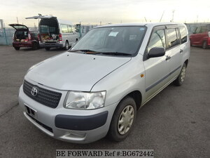 Used 2009 TOYOTA SUCCEED WAGON BG672442 for Sale