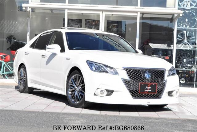 Used 2013 TOYOTA CROWN HYBRID BG680866 for Sale