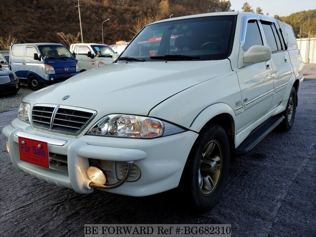 Used 2004 SSANGYONG MUSSO BG682310 for Sale
