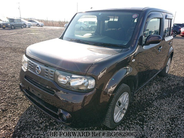Used 2013 NISSAN CUBE BG682906 for Sale