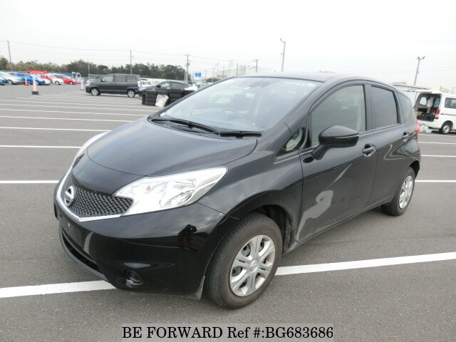 Used 2014 NISSAN NOTE BG683686 for Sale