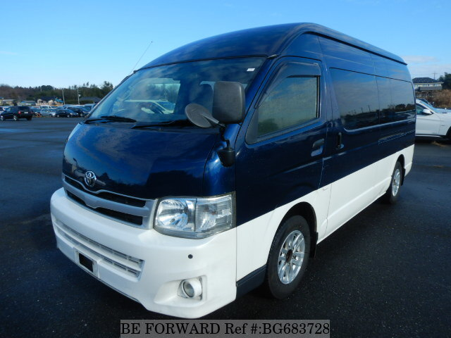 Used 2012 TOYOTA HIACE COMMUTER BG683728 for Sale