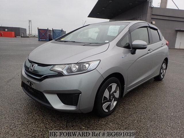 Used 2013 Honda Fit Hybrid Hybrid L Package Daa Gp5 For Sale Bg691039 Be Forward