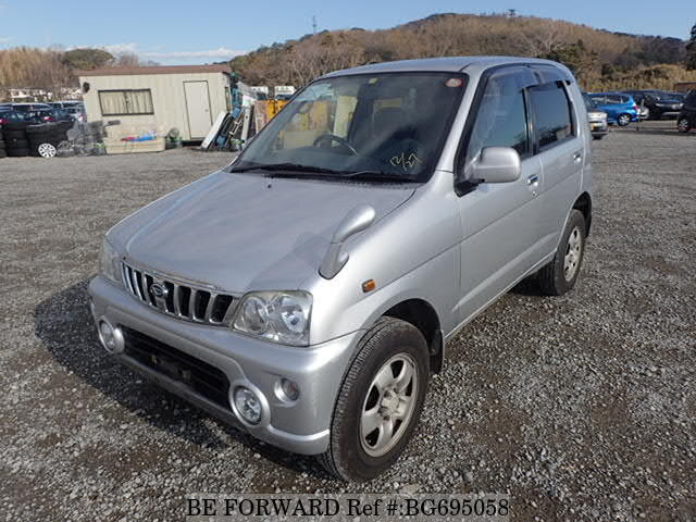 Used 2002 DAIHATSU TERIOS KID BG695058 for Sale