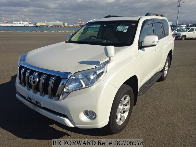 Used 2015 TOYOTA LAND CRUISER PRADO BG705978 for Sale