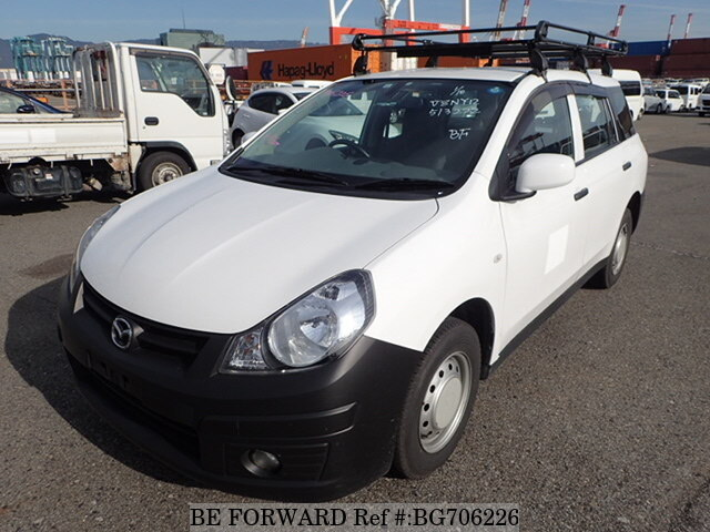 Used 2012 MAZDA FAMILIA VAN BG706226 for Sale
