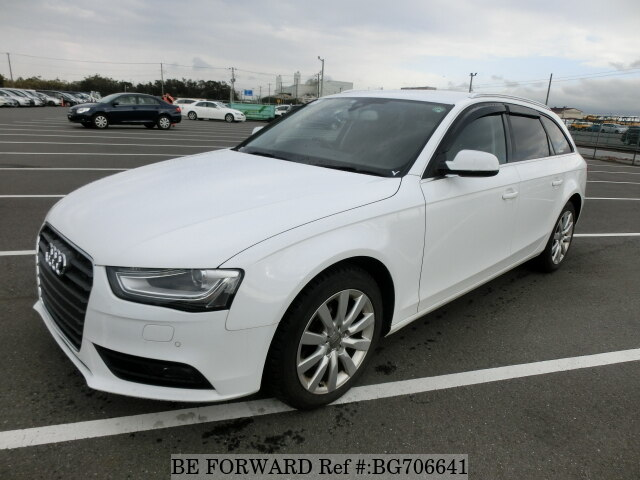Used 2013 AUDI A4 BG706641 for Sale