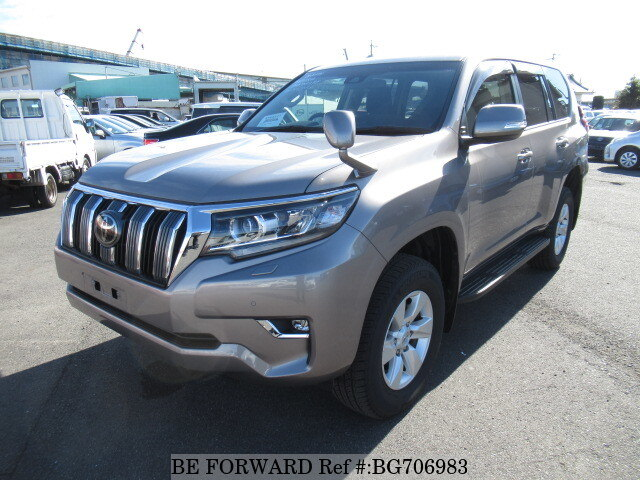 Used 2017 TOYOTA LAND CRUISER PRADO BG706983 for Sale