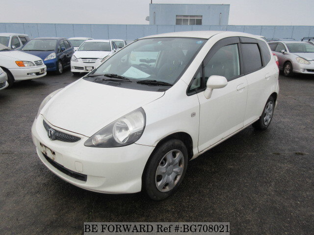 Used 2007 HONDA FIT BG708021 for Sale