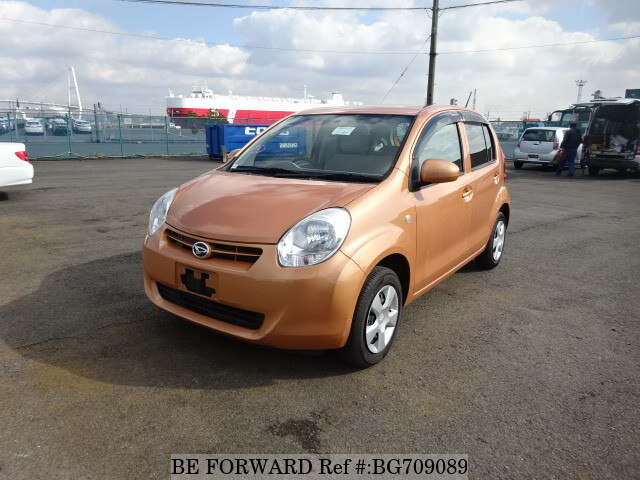 Used 2010 DAIHATSU BOON BG709089 for Sale