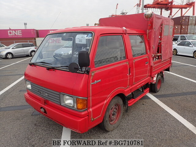 Used 1991 MAZDA BONGO BRAWNY TRUCK FIRE ENGINE/T-SD89T for ...
