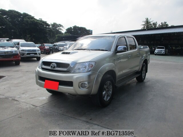 Used 2010 TOYOTA HILUX BG713598 for Sale