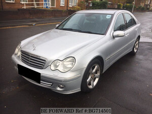 Used 2005 MERCEDES-BENZ C-CLASS BG714501 for Sale