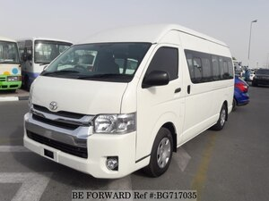 Used 2016 TOYOTA HIACE COMMUTER BG717035 for Sale