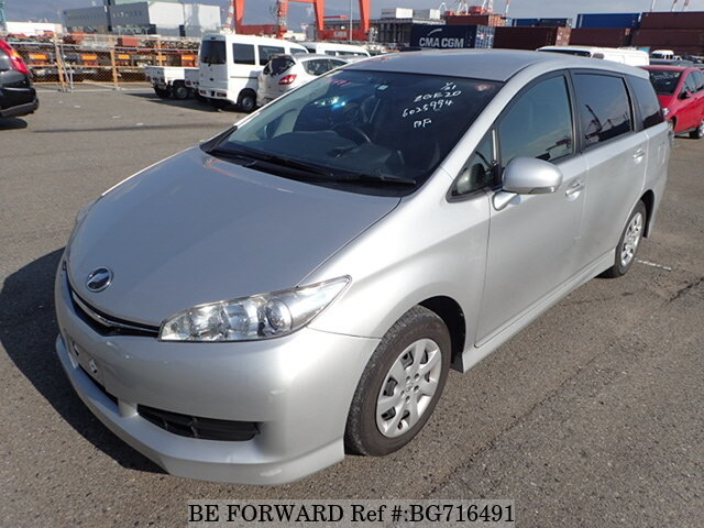 Used 2015 TOYOTA WISH BG716491 for Sale