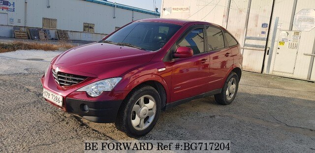 Used 2006 SSANGYONG ACTYON BG717204 for Sale