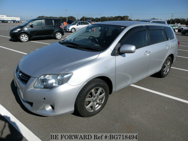 Used 2011 TOYOTA COROLLA FIELDER BG718494 for Sale