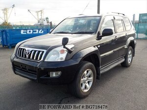 Used 2005 TOYOTA LAND CRUISER PRADO BG718478 for Sale