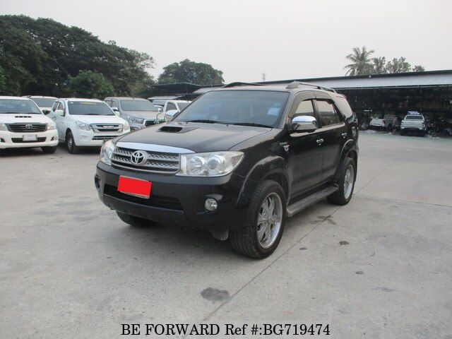 Used 2009 TOYOTA FORTUNER BG719474 for Sale