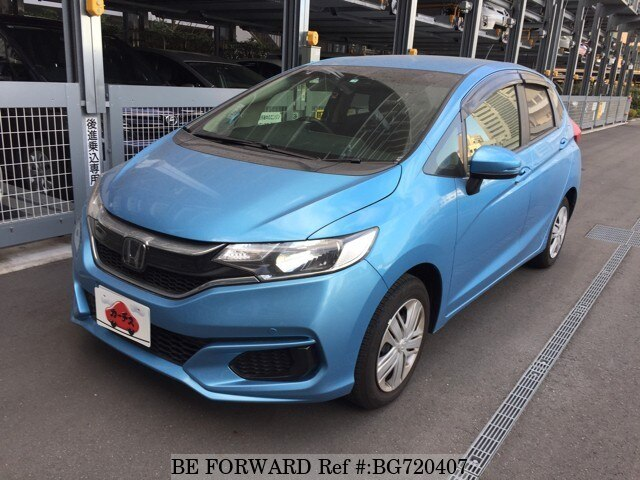 Used 2018 HONDA FIT BG720407 for Sale