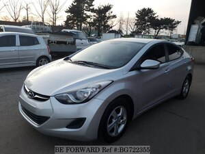 Used 2011 HYUNDAI AVANTE (ELANTRA) BG722355 for Sale