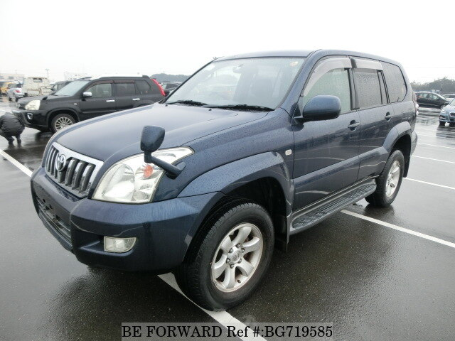 Used 2003 TOYOTA LAND CRUISER PRADO BG719585 for Sale
