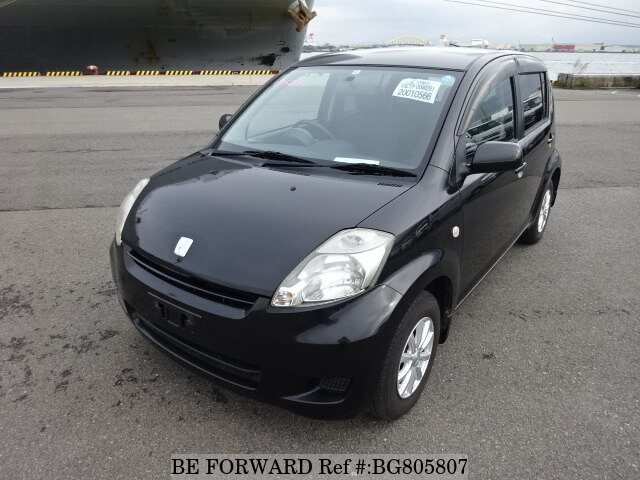 Used 2008 TOYOTA PASSO BG805807 for Sale