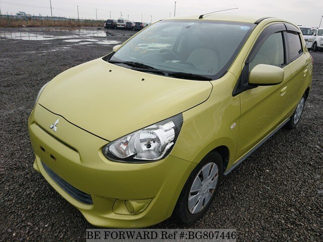 Used 2012 MITSUBISHI MIRAGE BG807446 for Sale
