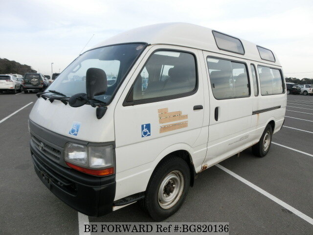 Used 1999 TOYOTA HIACE COMMUTER BG820136 for Sale
