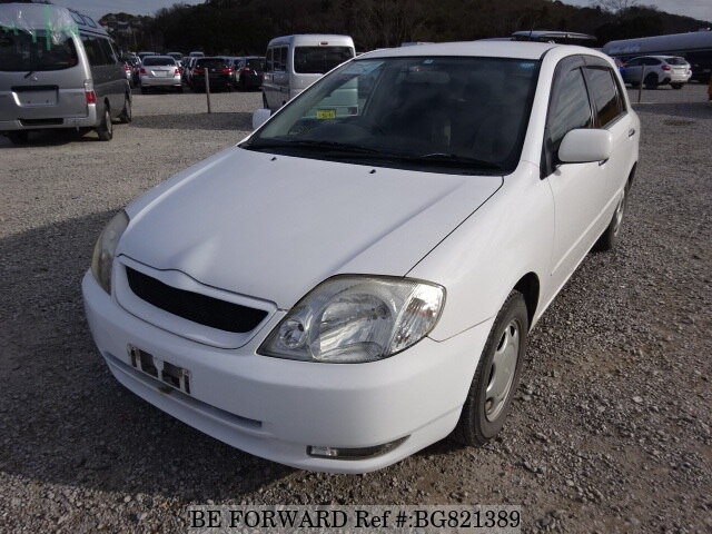 Used 2001 TOYOTA ALLEX BG821389 for Sale