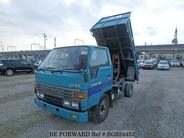 Used 1992 TOYOTA DYNA TRUCK BG824453 for Sale