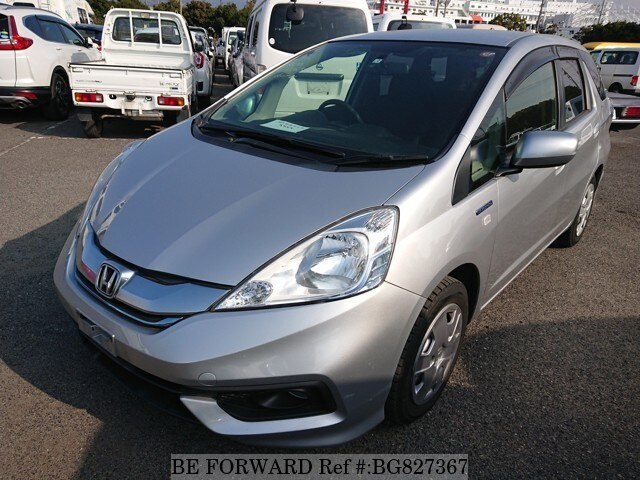 Used 2015 Honda Fit Shuttle Hybrid Daa Gp2 For Sale Bg827367 Be Forward