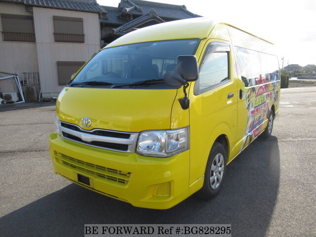 Used 2011 TOYOTA HIACE COMMUTER BG828295 for Sale