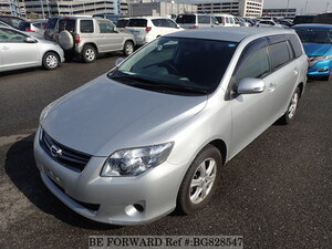 Used 2011 TOYOTA COROLLA FIELDER BG828547 for Sale