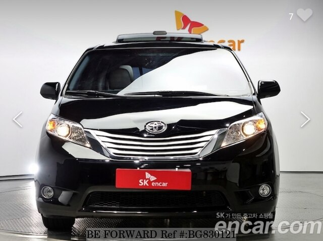 Used 2013 TOYOTA SIENNA BG830121 for Sale