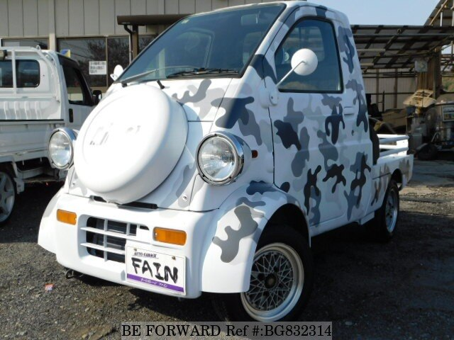 Used 1996 Daihatsu Midgetii V K100p For Sale Bg832314 Be Forward