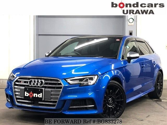 Used 2017 AUDI S3 BG833278 for Sale