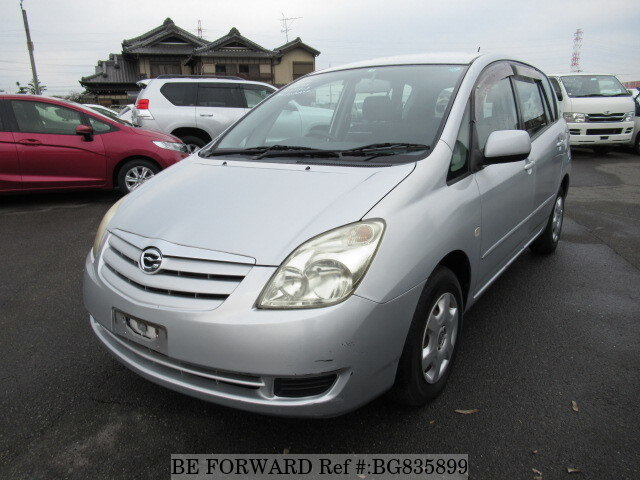 Used 2005 TOYOTA COROLLA SPACIO BG835899 for Sale