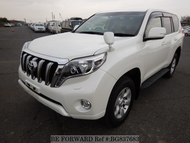 Used 2016 TOYOTA LAND CRUISER PRADO BG837683 for Sale