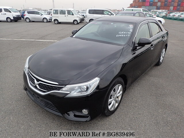 Used 2014 TOYOTA MARK X BG839496 for Sale