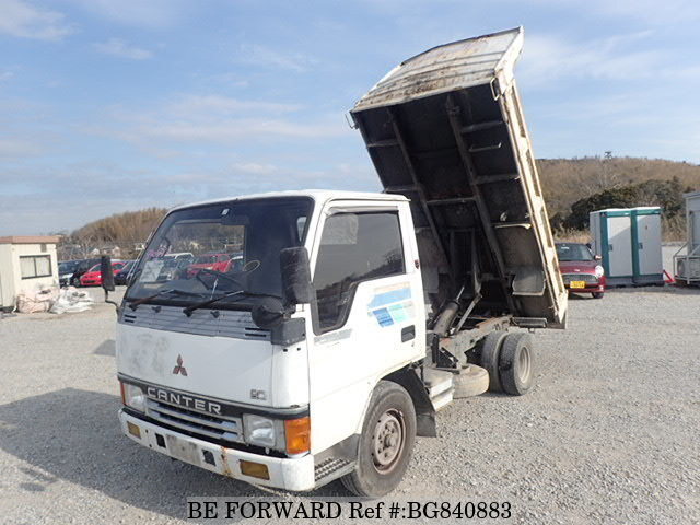 Used 1988 MITSUBISHI CANTER BG840883 for Sale