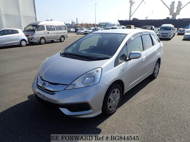 Used 2015 Honda Fit Shuttle Hybrid Hybrid C Daa Gp2 For Sale Bg844545 Be Forward