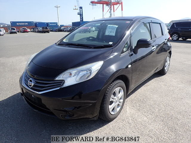 Used 2012 NISSAN NOTE BG843847 for Sale