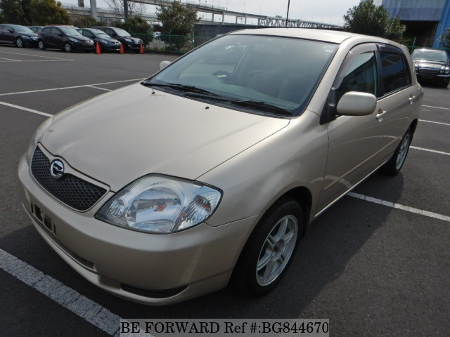Used 2001 TOYOTA COROLLA RUNX BG844670 for Sale