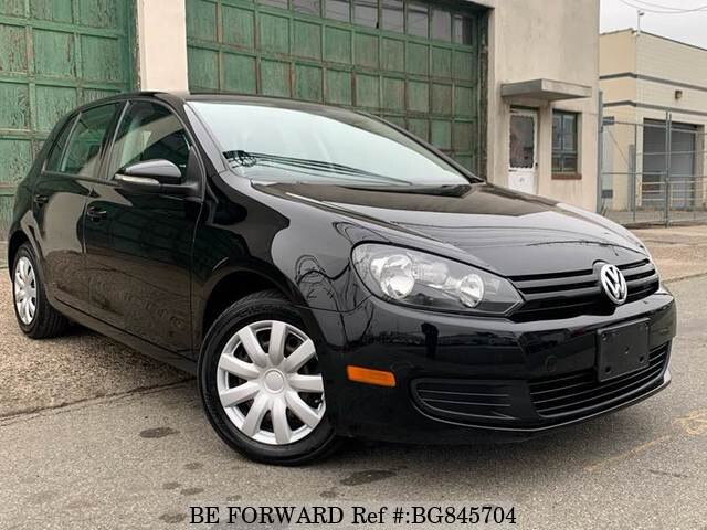 Used 2012 VOLKSWAGEN GOLF BG845704 for Sale