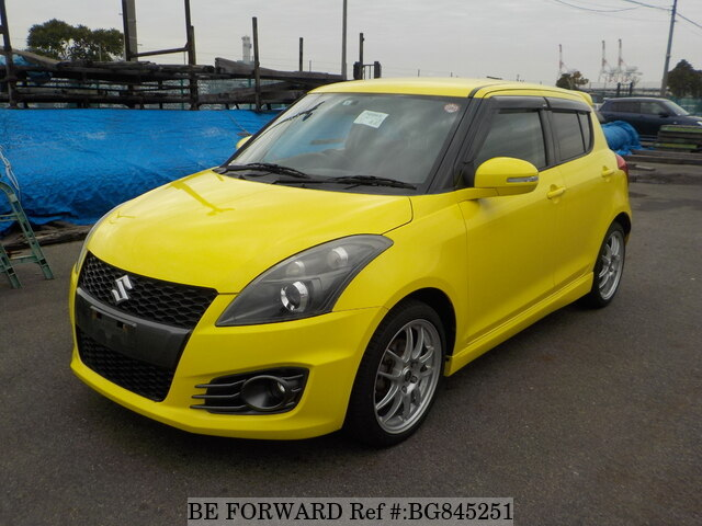 Used 2012 SUZUKI SWIFT BG845251 for Sale