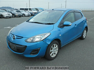 Used 2011 MAZDA DEMIO BG845263 for Sale