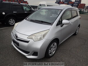 Used 2012 TOYOTA RACTIS BG845187 for Sale