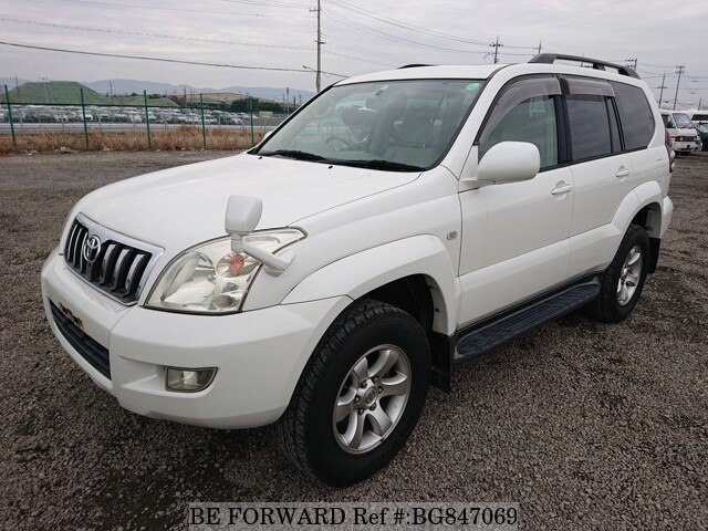 Used 2005 TOYOTA LAND CRUISER PRADO BG847069 for Sale
